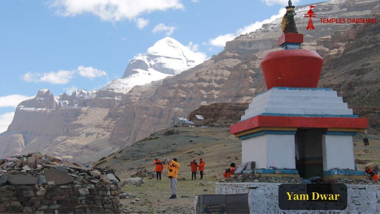 yamdwar and mount kailash