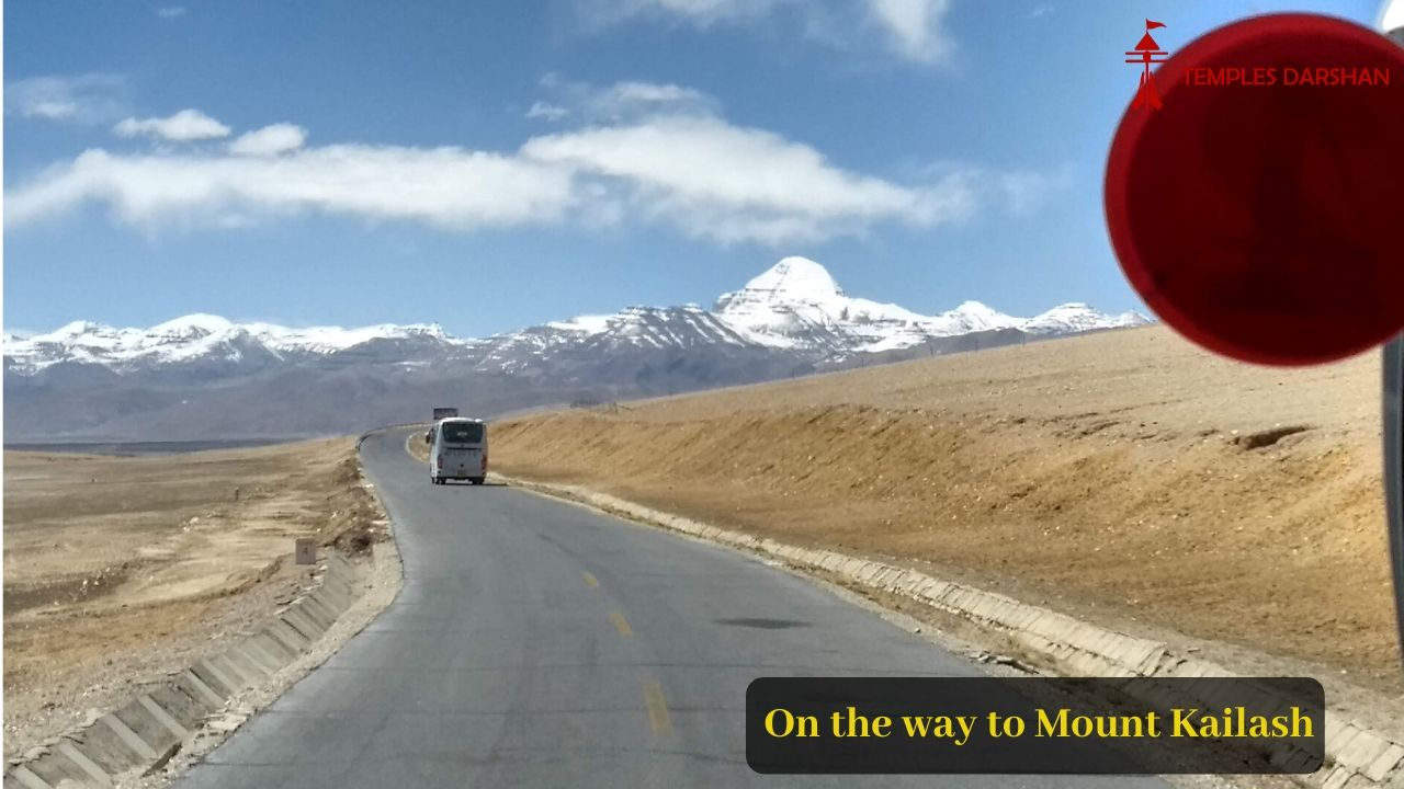 on the way to mount kailash